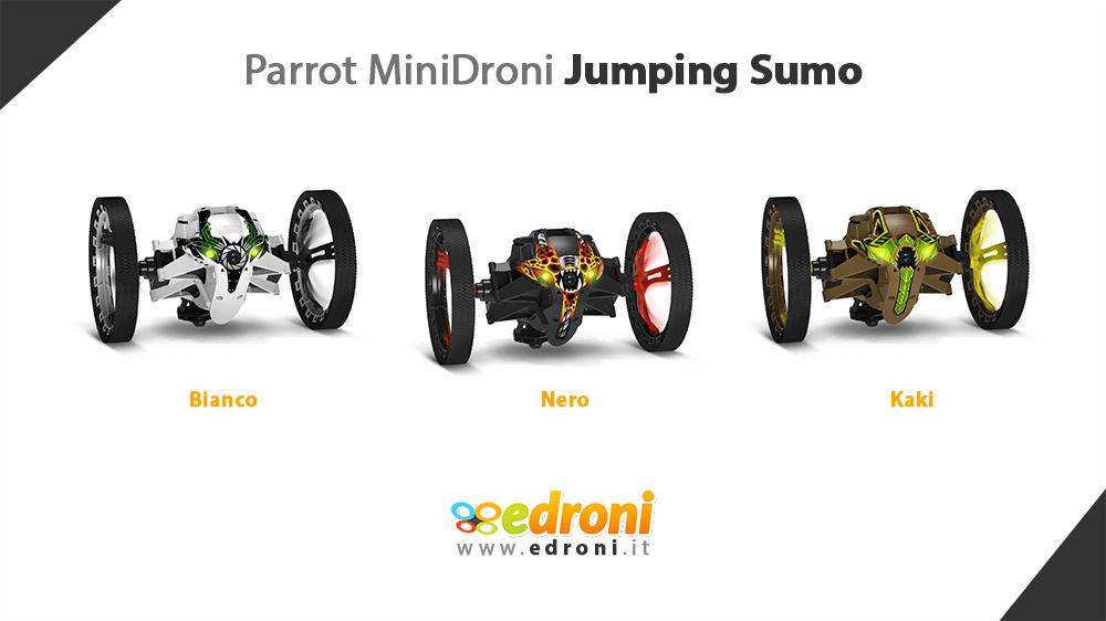 Jumping Sumo Colorazioni